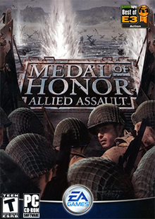 Medal of Honor Allied Assault Coverart